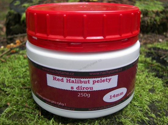 Red halibut pelety Coppens 14mm 250g