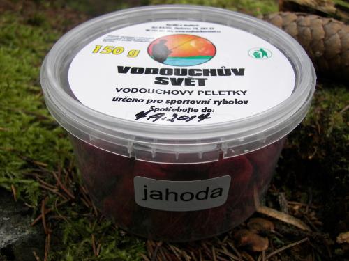 Vodouchovy peletky Jahoda 12mm