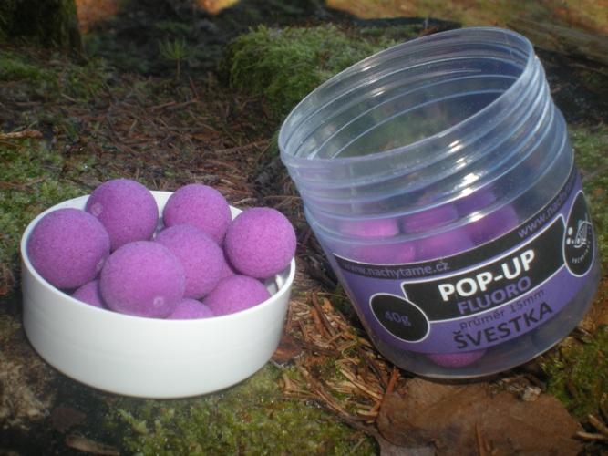 Pop-Up Fluoro Švestka 40g