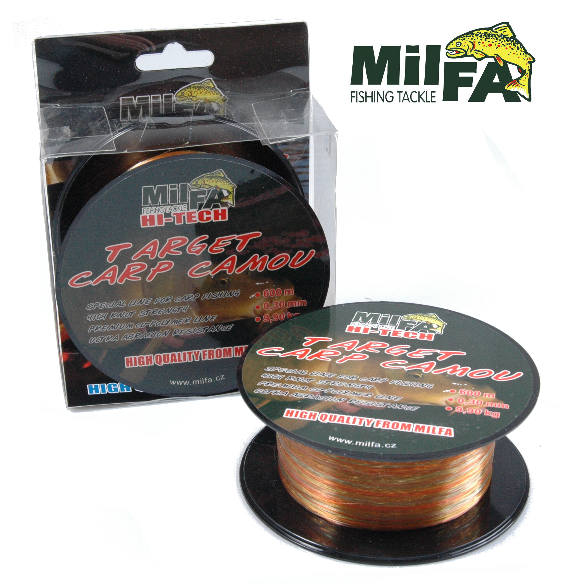 MilfaCarp Camou 0,28mm