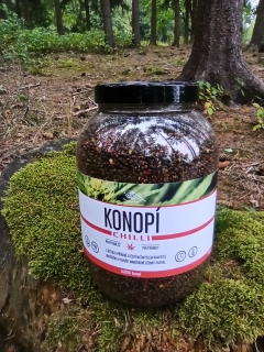 Konopí Chilli 3000ml